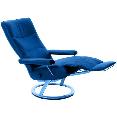 Symbol picture, recliner with foldable footrest