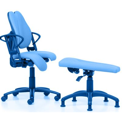 Symbol image, leg rest for office chairs
