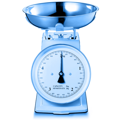 Symbol picture, kitchen scales