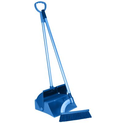 Symbol picture, broom and dustpan set