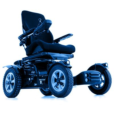 Symbol picture, electric special wheelchair
