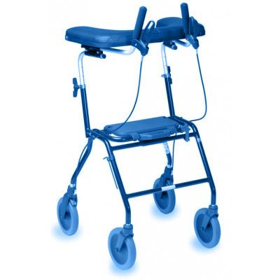 Symbolic picture, walking aid with armrests