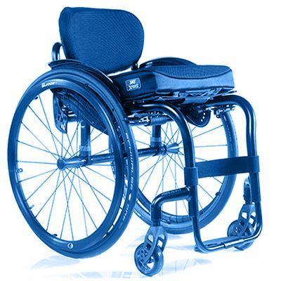 Symbol image, adaptive wheelchair