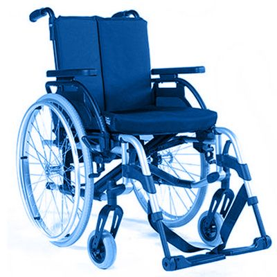 Symbol picture, lightweight wheelchair