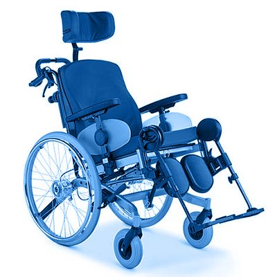 Symbol picture, Nursing wheelchair
