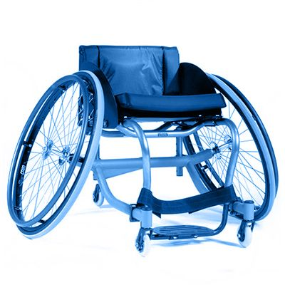 Symbol picture, sports wheelchair