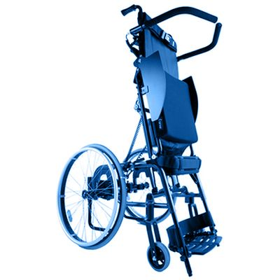 Symbol image, standing wheelchair manual